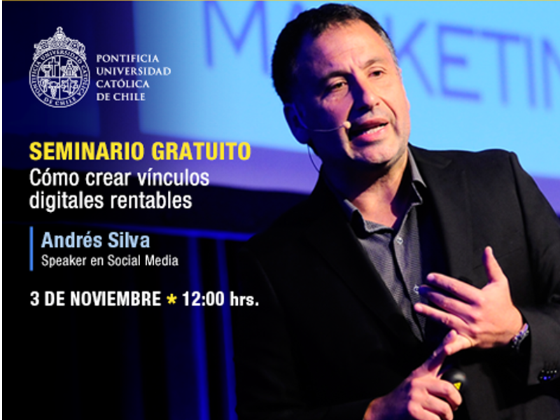 Seminario gratuito: Integrando el marketing digital a nuestros negocios