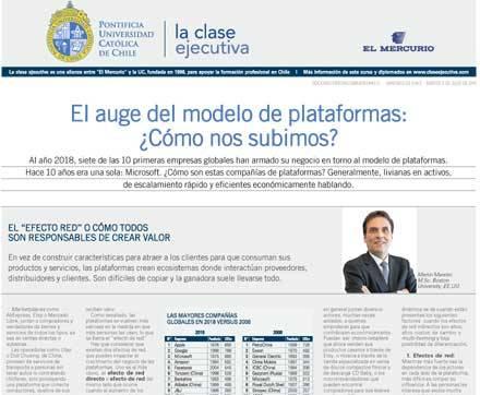 transformacion digital 2019 publicada El Mercurio