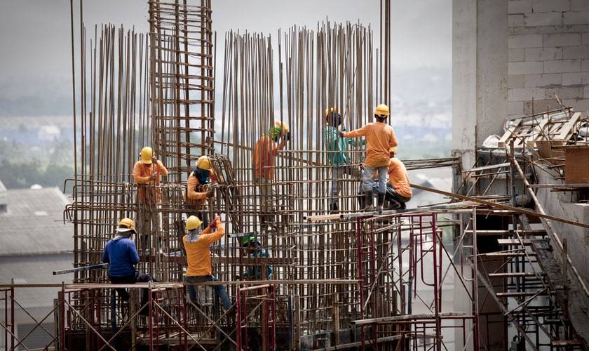 mandante y participantes de un proyecto construcción