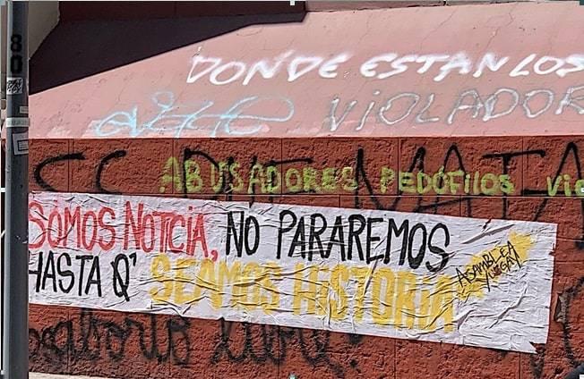 Foto 2 La creación de Adán cartel iglesia La Merced