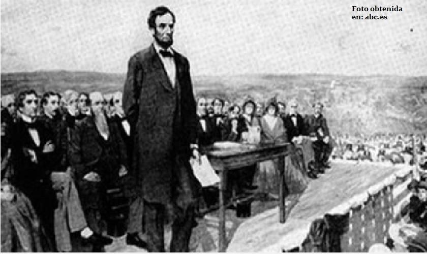 Discurso de Gettysburg Lincoln