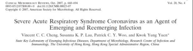 Articulo 2007 riesgos de coronavirus puntos ciegos corporativos