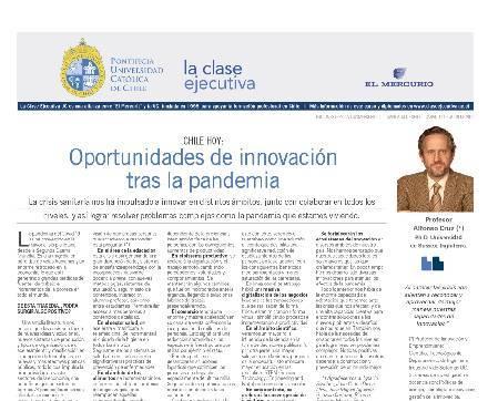 Gestión de la Innovación 2020, pandemia, alfonso cruz