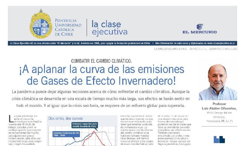curso técnicas de gestión ambiental, gases de efecto invernadero