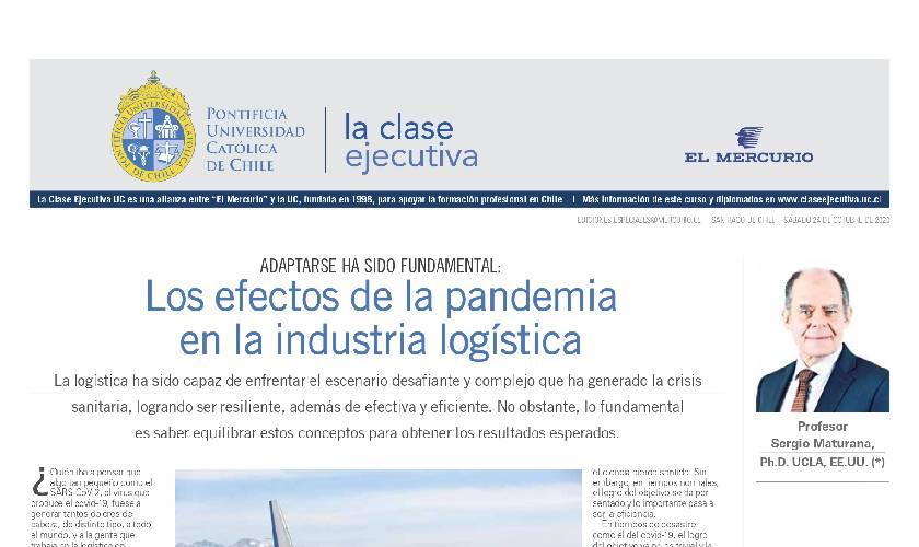 industria logistica, Curso Técnicas para la gestión en logística, los efectos de la pandemia en la industria logística, industria logística
