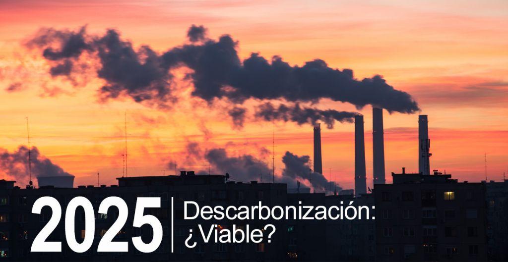 descarbonización 2025, energias renovables termoelectricas