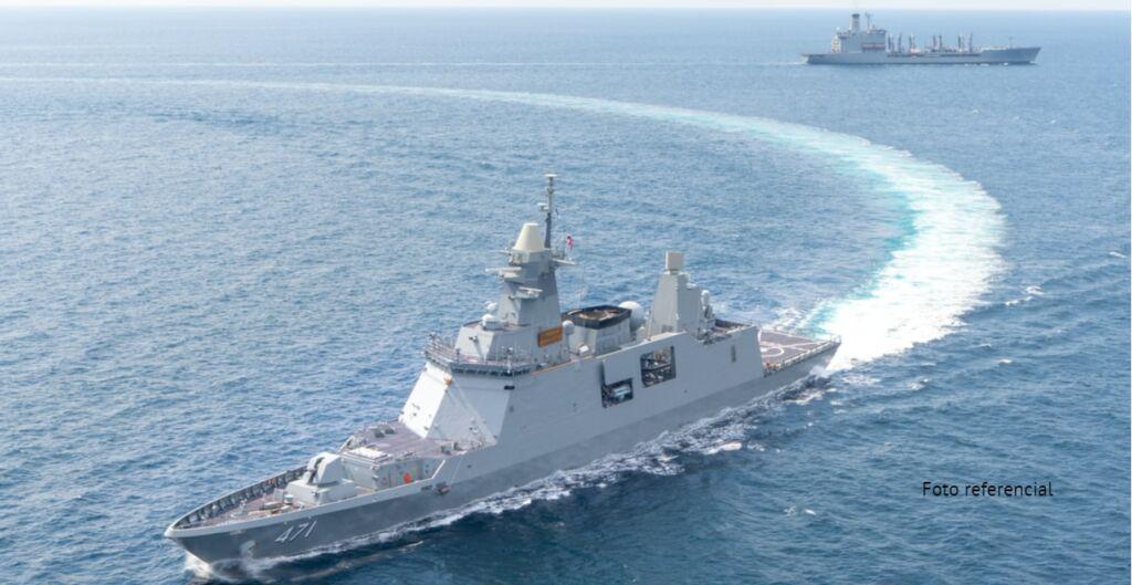 fragatas, apoyo logistico