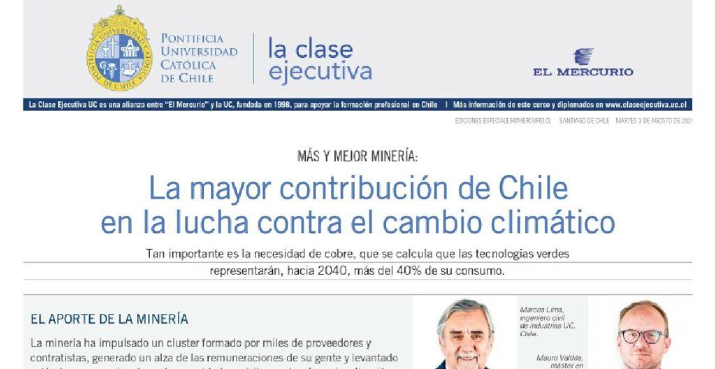 mineria, cambio climatico