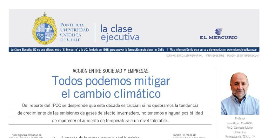 Cambio climatico, reporte del IPCC