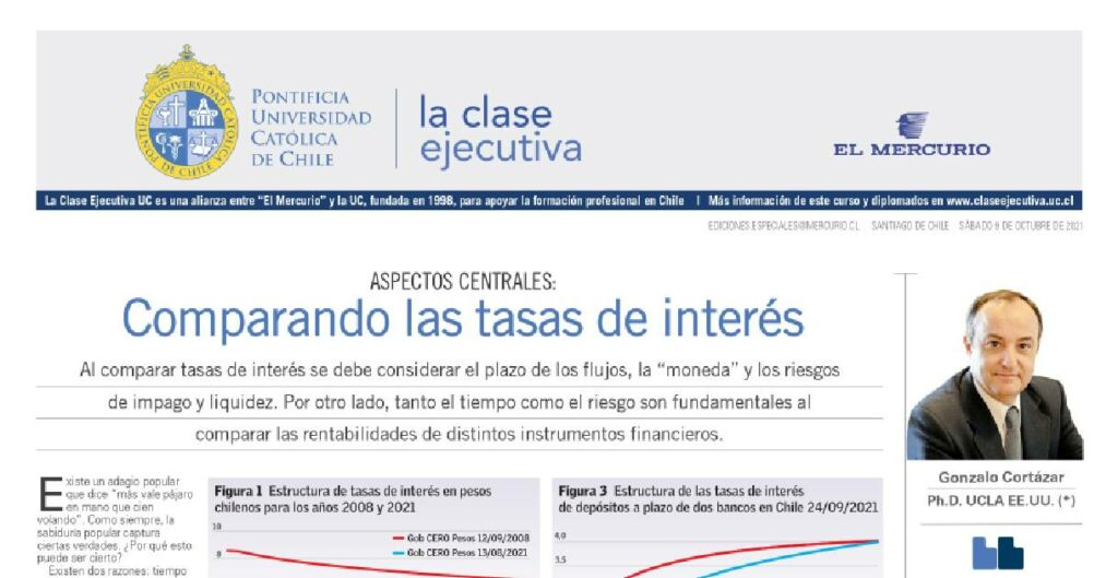 comparando tasa de interés